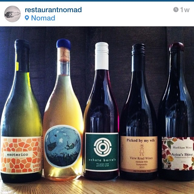 Regram @restaurantnomad thank you for including our #azizasshiraz 2014 in your natural winemakers dinner ?? #harkhamwine